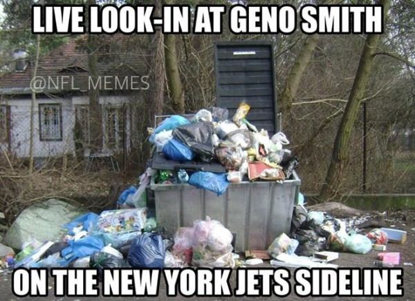 Geno Smith right now