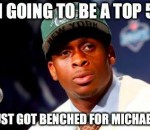 Getting benched