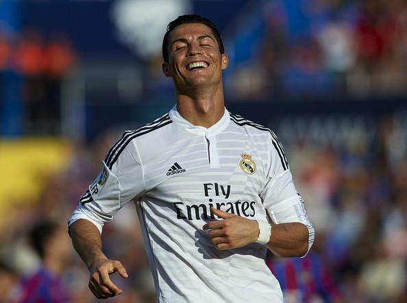 Happy Cristiano Ronaldo