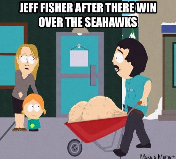 Jeff Fisher right now