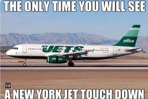 Jets touchdown
