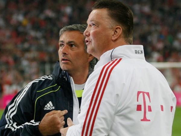Jose Mourinho, Louis van Gaal