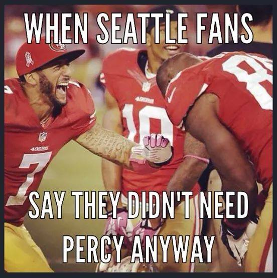 Laughing at the Seahawks