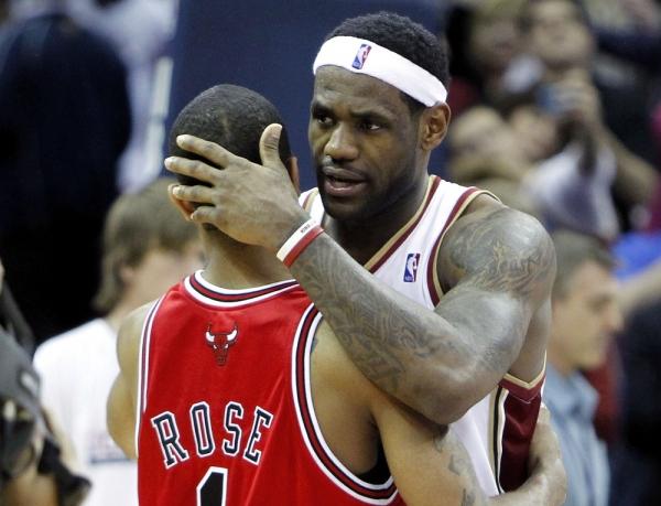 LeBron James, Derrick Rose