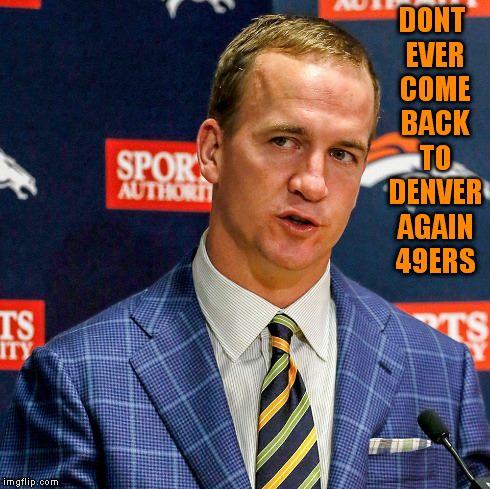 Leave Denver