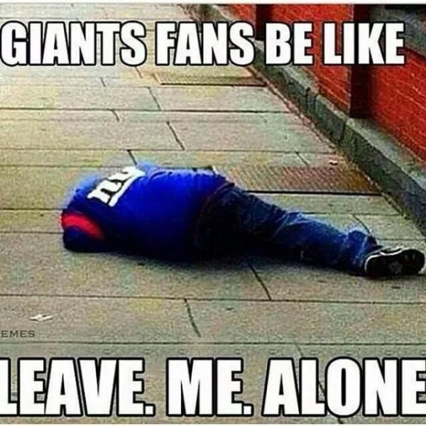 Leave Giants fans alone