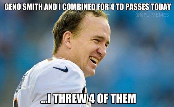 Manning helping out