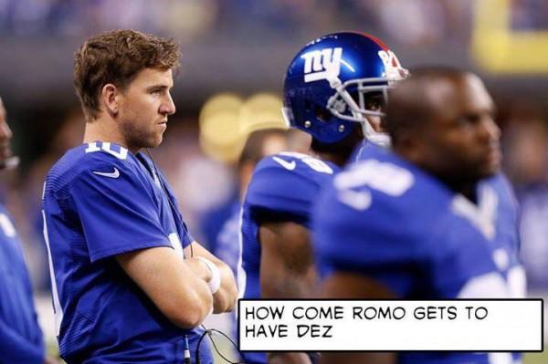 Manning is jealous