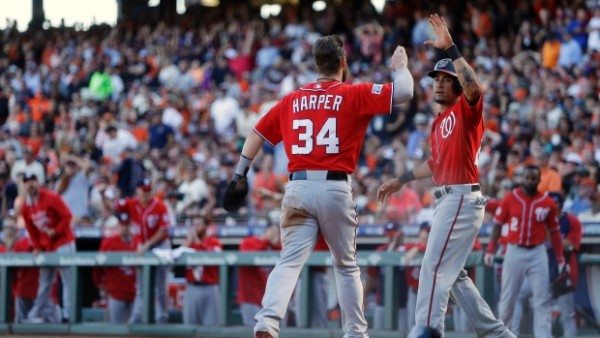 Nationals beat Giants