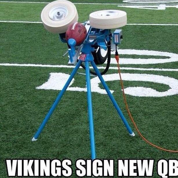 New Vikings QB
