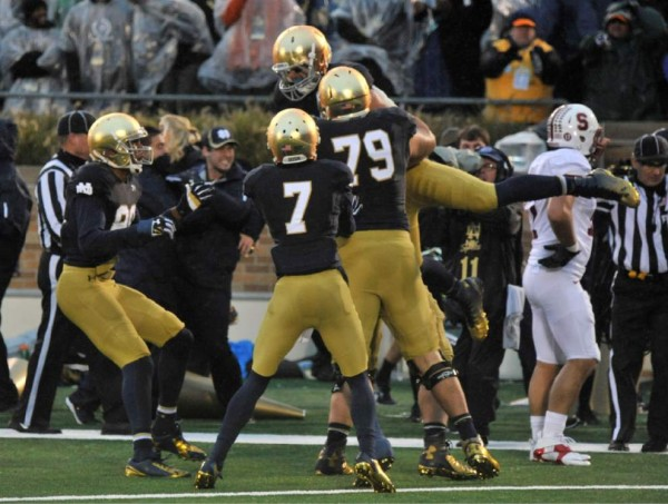 Notre Dame beat Stanford