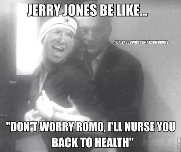 Nursing Romo back to health