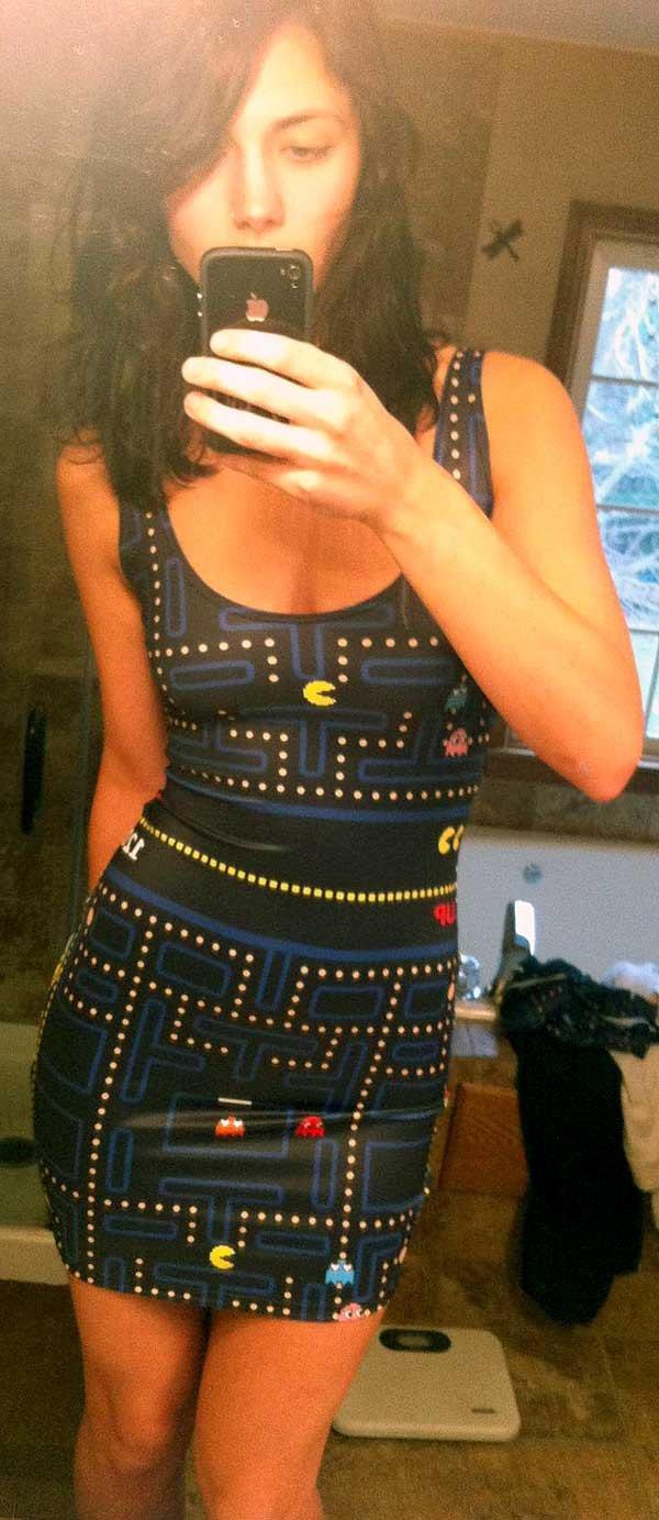 Pac-Man Selfie