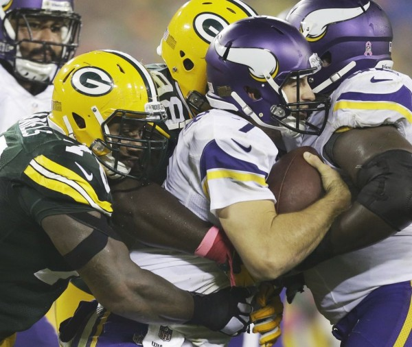 Packers beat Vikings