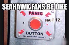 Panic button meme
