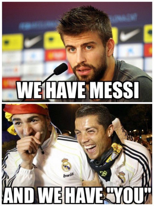 Pique works for Real Madrid