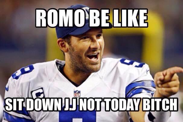 Romo happy