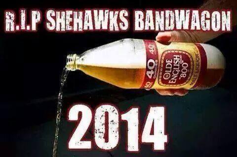 Seahawks bandwagon emptying