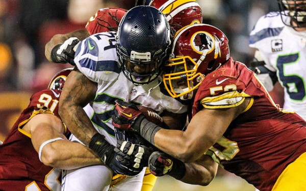 Seahawks vs Redskins