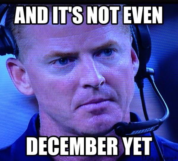 Still not December
