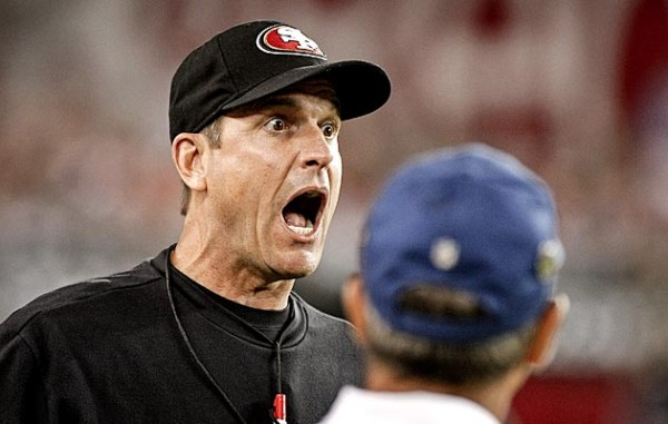 Surprised Harbaugh