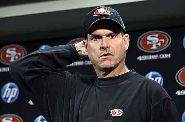 The confused Harbaugh