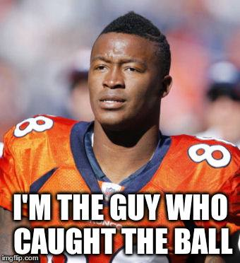 The guy who caught the ball