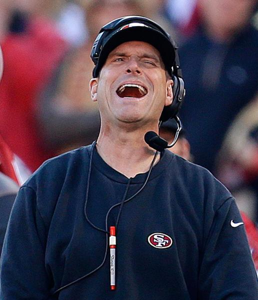 The why me Harbaugh