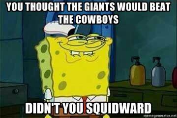 Underestimating the Cowboys
