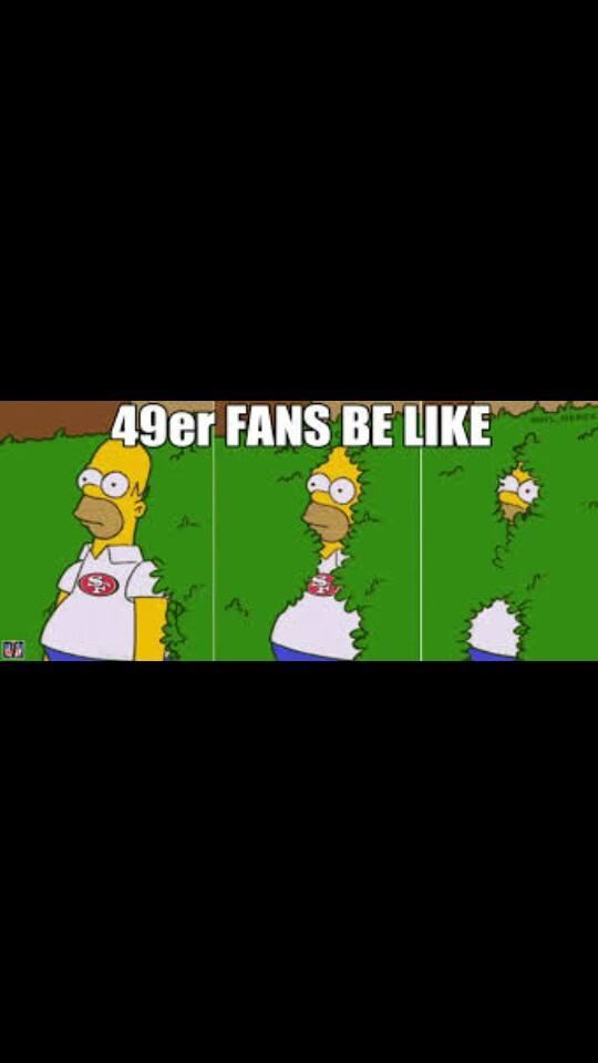 49er fans disappearing