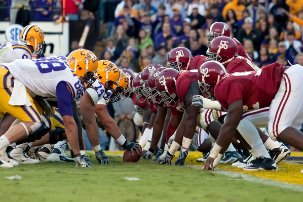 Alabama vs LSU