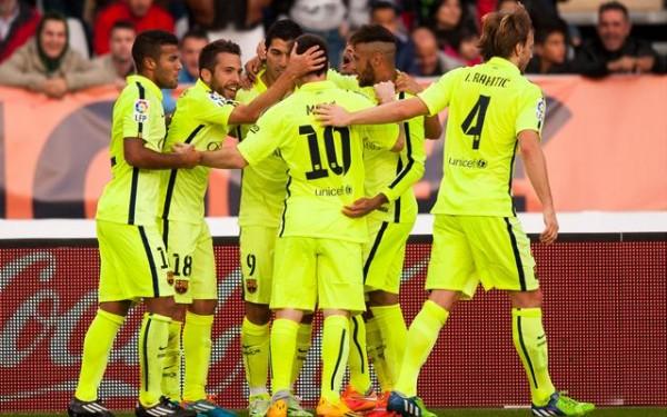 Barcelona beat Almeria