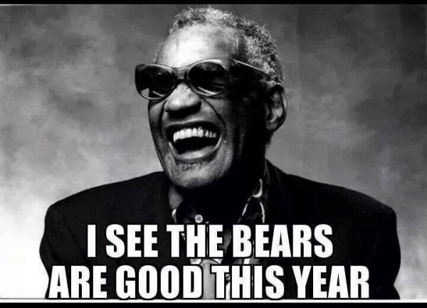 Bears are good this year