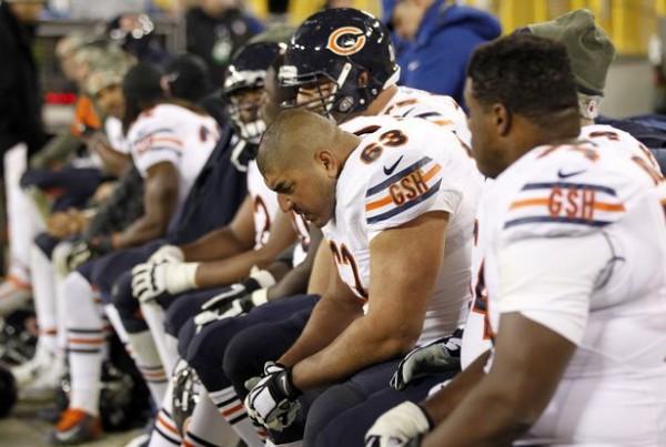 Bears bench
