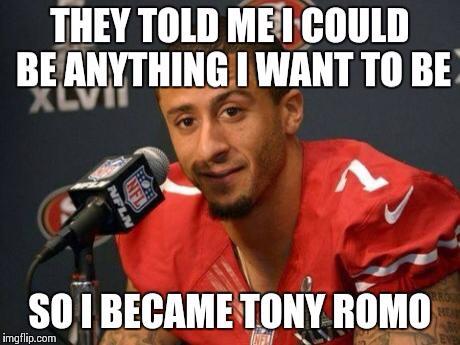 Becoming Tony Romo