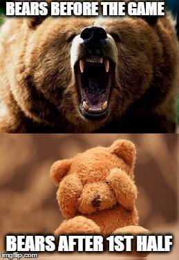 Before and after Bears
