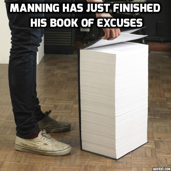 Book of excuses