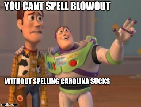 Carolina blowout