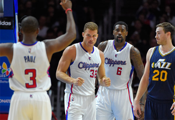 Clippers beat Jazz