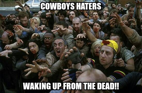 Cowboys haters waking up