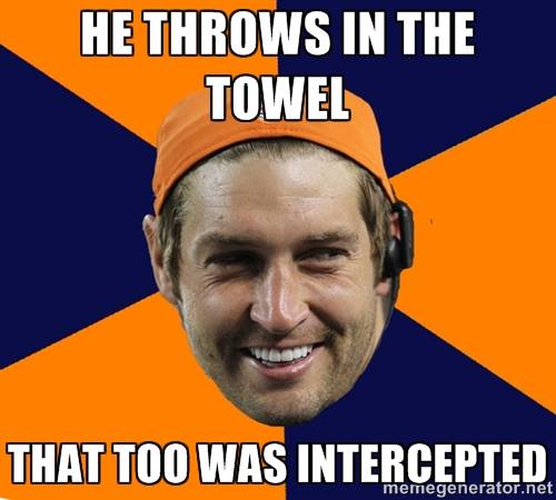Cutler throws towel