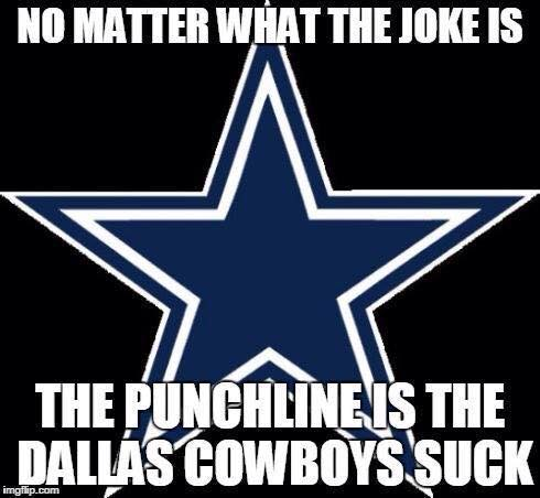 Dallas Cowboys suck