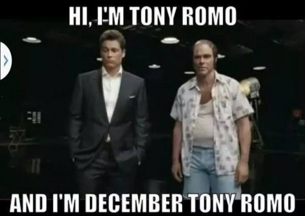 December Tony Romo