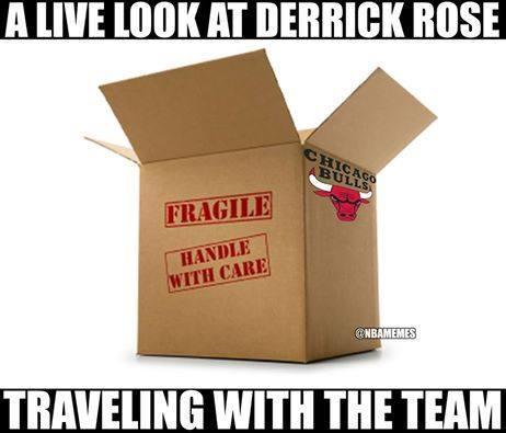 Derrick Rose Meme