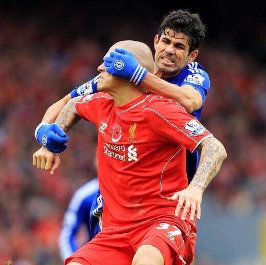 Diego Costa keeps getting away