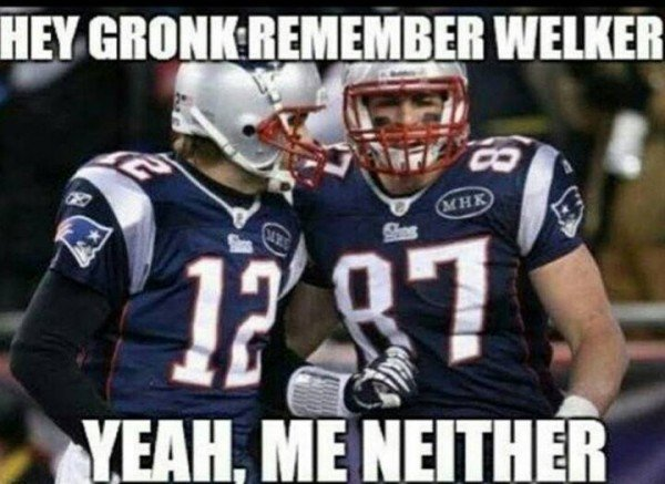 Forgetting Welker