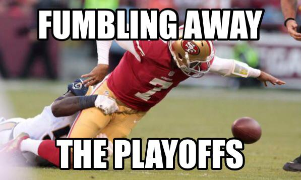 Fumbling the playoffs