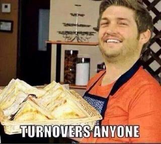 Handing out Turnovers