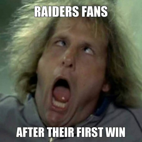 1xVtboh 35 best memes of the oakland raiders beating the kansas city chiefs