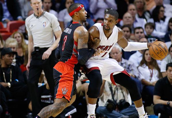 Heat beat Raptors